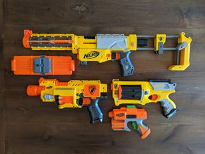 Nerf Guns Lot of 4 for Sale in Durham, CA