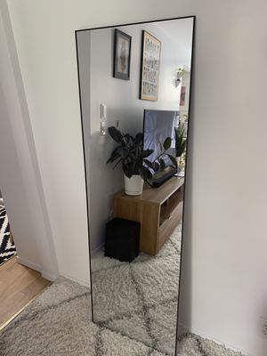 Full Length Black Mirror (Stretched) for Sale in New York, NY