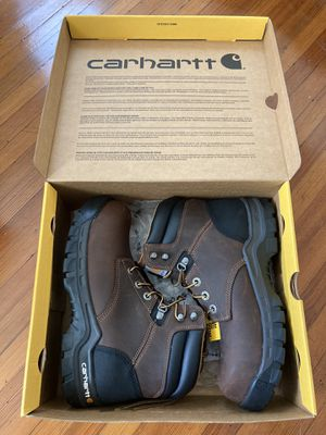 UNUSED Carhart work boots US9.5 Male for Sale in Beverly, MA