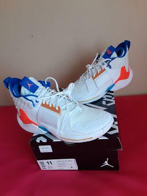 DS BRAND NEW Nike Air Jordan Why Not Zero.2 Total Crimson White SIZE 11 for Sale in Marietta, GA