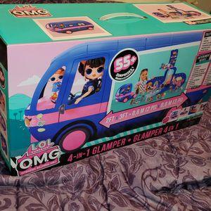 Glamper 4-in-1 Lol O.m.g Dolls for Sale in Everett, WA