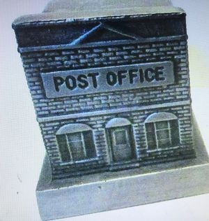 Pewter post office bank for Sale in Everett, WA