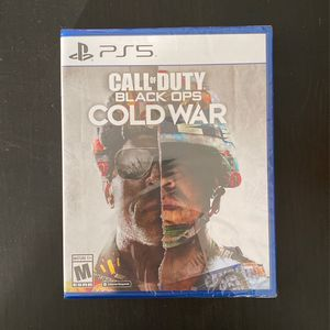 Call Of Duty Cold War COD Ps5 for Sale in Fontana, CA