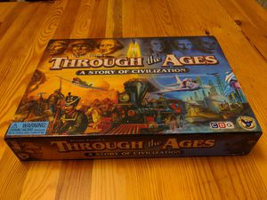 Board game: Through the Ages for Sale in Redwood City, CA