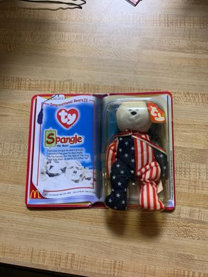 Ty Spangle the Bear Beanie Baby for Sale in Brandon, FL