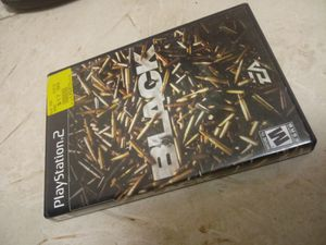 PS 2 - black - shooter - game - play - system - PlayStation - PlayStation 2 - PlayStation 3 - PlayStation 4 - PS2 - PS3 - PS4 for Sale in Naples, FL