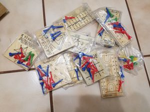 12 wooden kids games, still wrapped for Sale in Tampa, FL