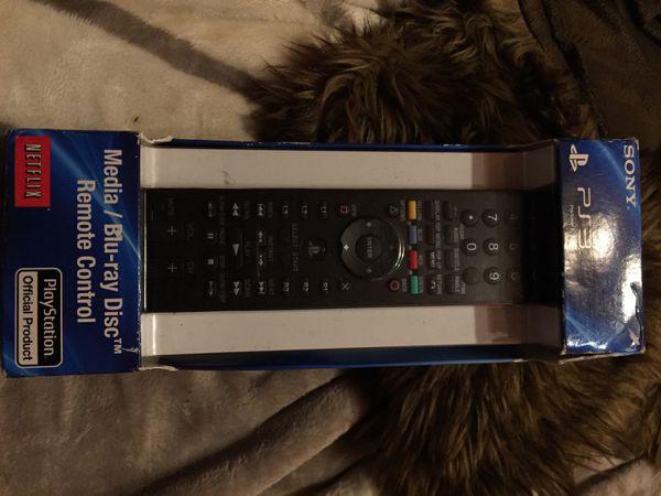Sony PS3 media blu-ray remote control new in box
