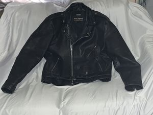 Vintage Wilsons Thinsulate Black Leather Harley Davidson Jacket 1903-1993 for Sale in Wichita, KS