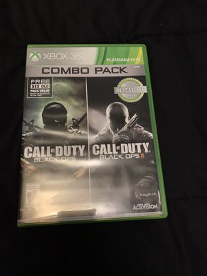 Call of Duty Black Ops 1 & 2 Combo pack for Sale in Lynchburg, VA