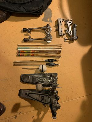 DW500, Pearl bass drum pedals and random stuff for Sale in Los Angeles, CA