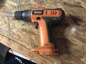 Ridge cordless drill. No battery for Sale in Covington, GA