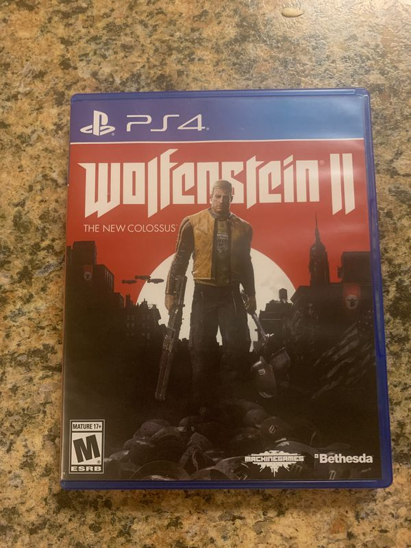 Ps4 games Wolfenstien ll