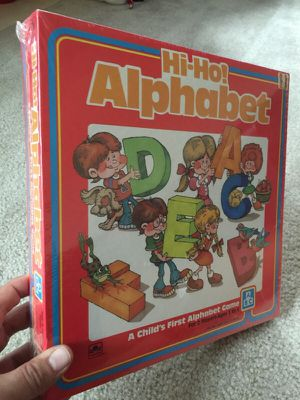 Vintage 1985 sealed Hi Ho Alphabet game for Sale in Romulus, MI