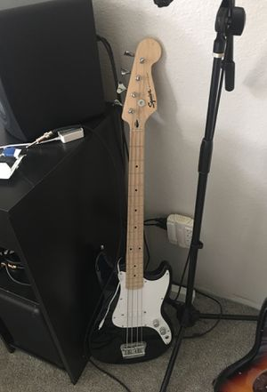 Squire bass brand new for Sale in Joint Base Lewis-McChord, WA