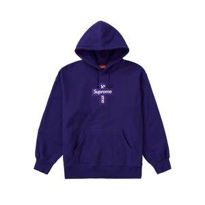 Supreme Cross Box Logo Purple Size Medium for Sale in Atlanta, GA
