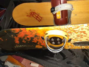Kemper and burton snowboards with bag bindings for Sale in San Diego, CA
