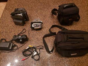 Jvc & Panasonic camcorders & canon camera for Sale in Mesa, AZ