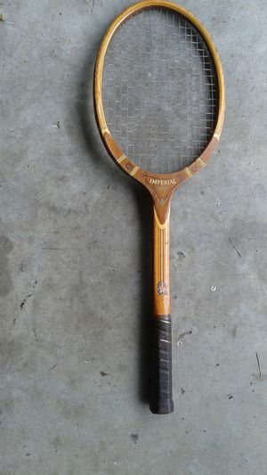 Vintage tennis racquet for Sale in US