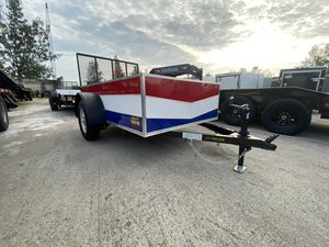 Utility Trailer 5x8 Covered Wagon for Sale in Pembroke Pines, FL