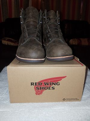 womens red wings steal toe boots for Sale in Orlando, FL