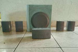 Toshiba 5.1 speakers with subwoofer for Sale in Hialeah, FL