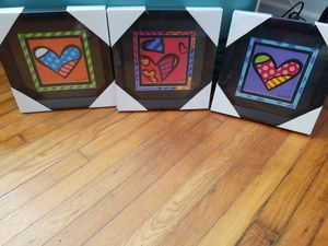 Romero Brito framed wall posters for Sale in West Palm Beach, FL