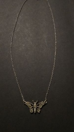 Very pretty butterfly necklace for Sale in Port Richey, FL