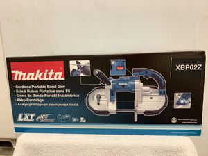 Makita 18-Volt LXT Lithium-Ion Cordless Portable Band Saw (Tool Only) for Sale in Hayward, CA