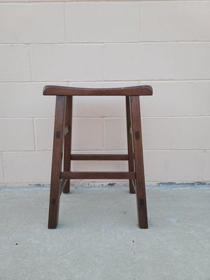 Brown stool for Sale in Huntington Beach, CA