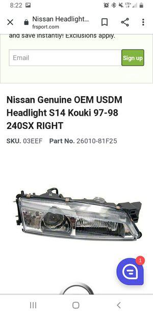 S14 kouki headlights for Sale in Tucson, AZ