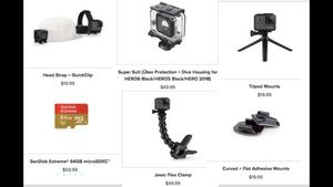 GoPro accessories: all original for Sale in Phoenix, AZ