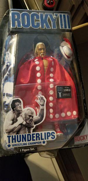 Rocky III THUNDERLIPS Hulk Hogan Jakks Pacific for Sale in Baldwin Park, CA