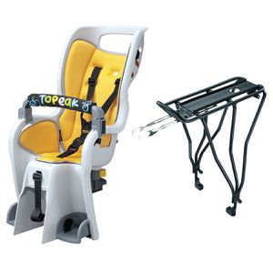 Topeak Baby Seat II 26 in with Disc Rack - Excellent condition for Sale in San Diego, CA