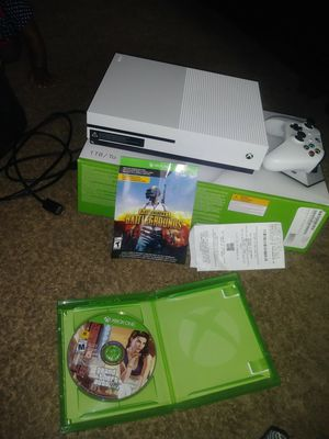 Xbox One S. 1TB w/ 2 games and Wired Controller for Sale in Atlanta, GA