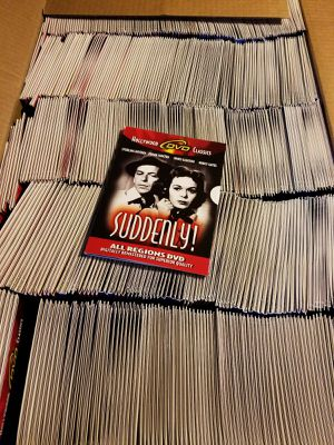 600 New DVDs Suddenly! 1954 Frank Sinatra Noir Crime Film Hollywood Classic for Sale in York, PA