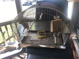 Small old bird cage Not sure if the vintage for Sale in Brockton, MA