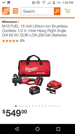 Right angle Milwaukee 1/2 drill for Sale in Deerfield, OH