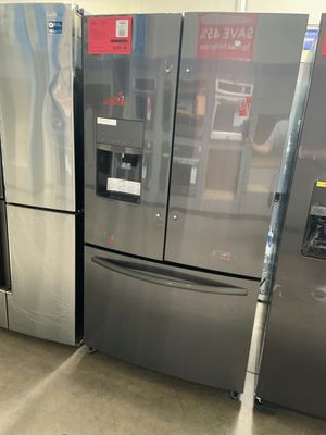 New Black Stainless Refrigerator ON SALE 1yr Factory Warranty for Sale in Gilbert, AZ