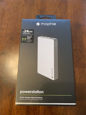 Mophie Quick Charge External Battery BRAND NEW for Sale in New Hill, NC