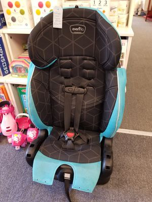 Evenflo Chase Comvertible toddler to booster Car Seat for Sale in Seattle, WA