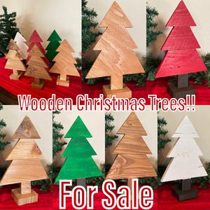 HANDMADE WOODEN CHRISTMAS TREES for Sale in Corona, CA