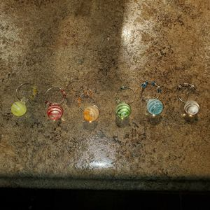 WINE GLASS CHARMS for Sale in Brick Township, NJ