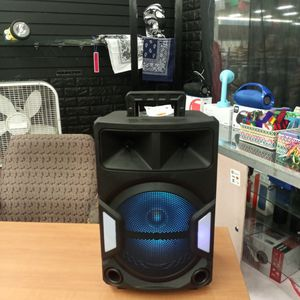 Brand New 12 In Speaker Has Bluetooth Fm Am Great Sound Base Very Very Loud And Only For 80 Bucks Brand New Speaker In The Box for Sale in Phoenix, AZ