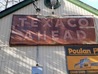 10 Ft Texaco Sign for Sale in Lorton,  VA