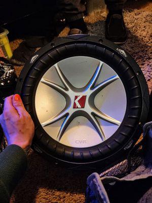 Kicker Subwoofer for Sale in Minneapolis, MN