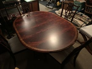 Ethan Allen Dining Table Set for Sale in Plant City, FL