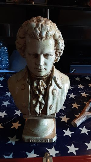 Caproni collection museum quality MOZART bust for Sale in Tempe, AZ