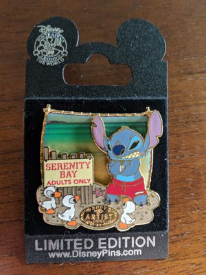 Stitch Disney pin Serenity Bay adults-only artist choice 2007 for Sale in Glendale, AZ