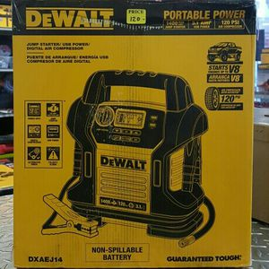 DeWalt Jump Starter Air Compressor Brand New for Sale in Pittsburgh, PA